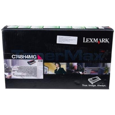 LEXMARK C748 RP TONER CART MAGENTA 10K TAA